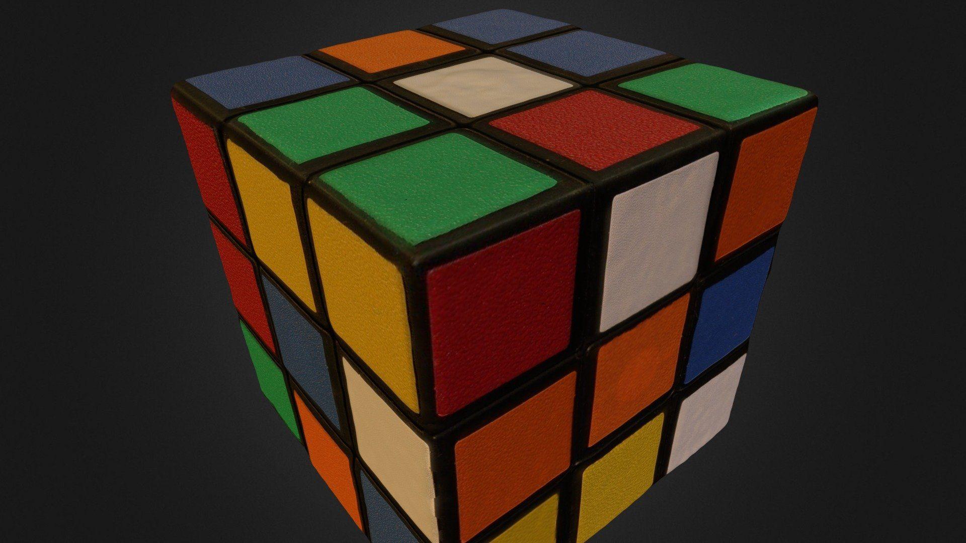 Rubiks Cube High Quality