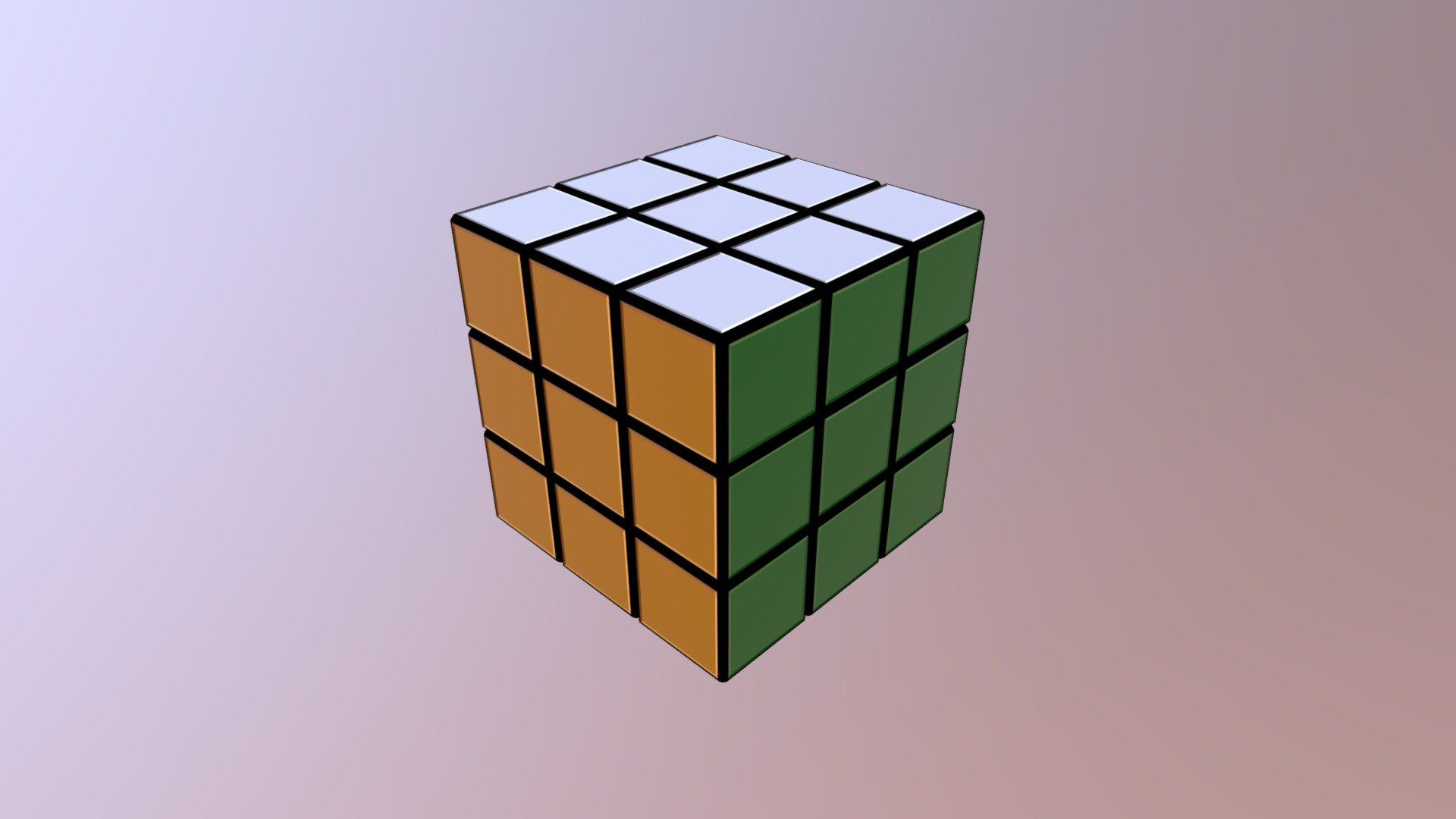 Rubiks Cube Free Desktop Wallpaper