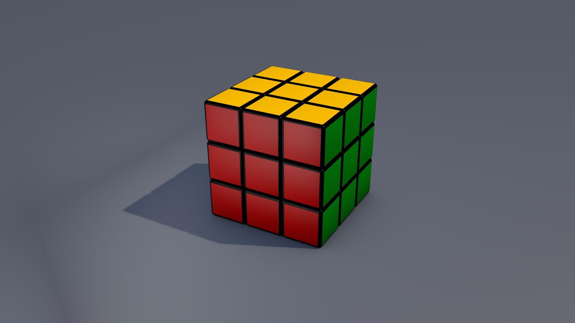 Rubiks Cube HD Desktop Wallpaper