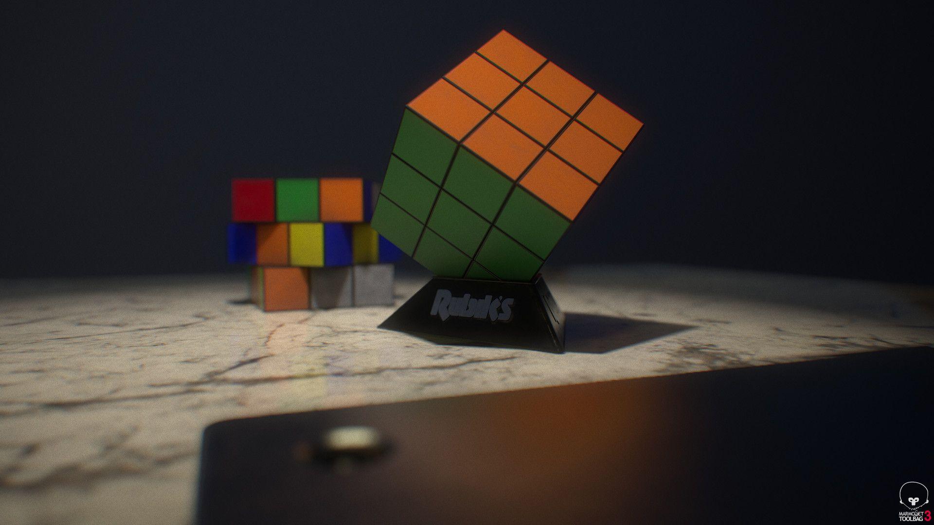 Rubiks Cube Background