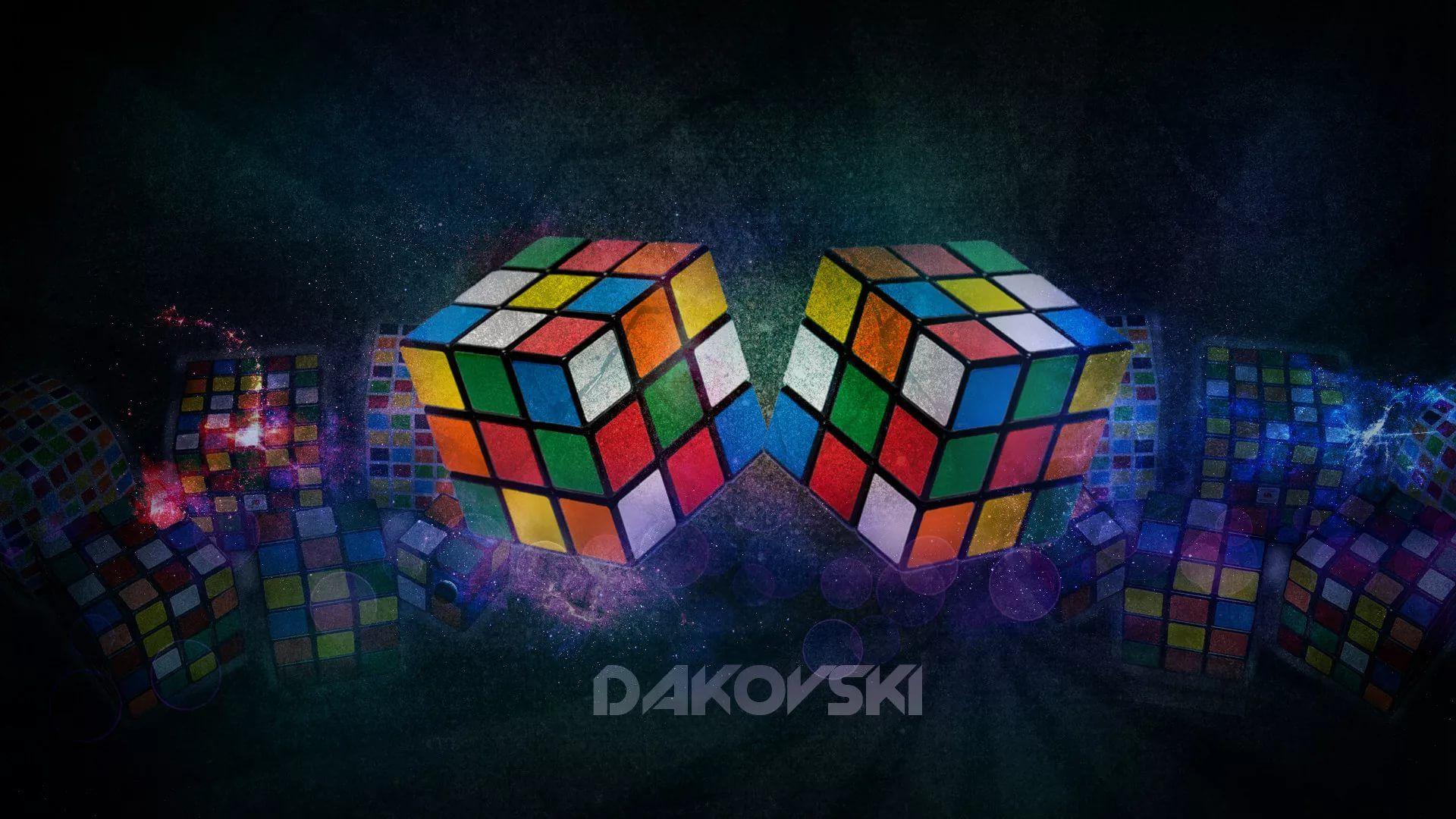 Rubiks Cube 1920x1080 wallpaper