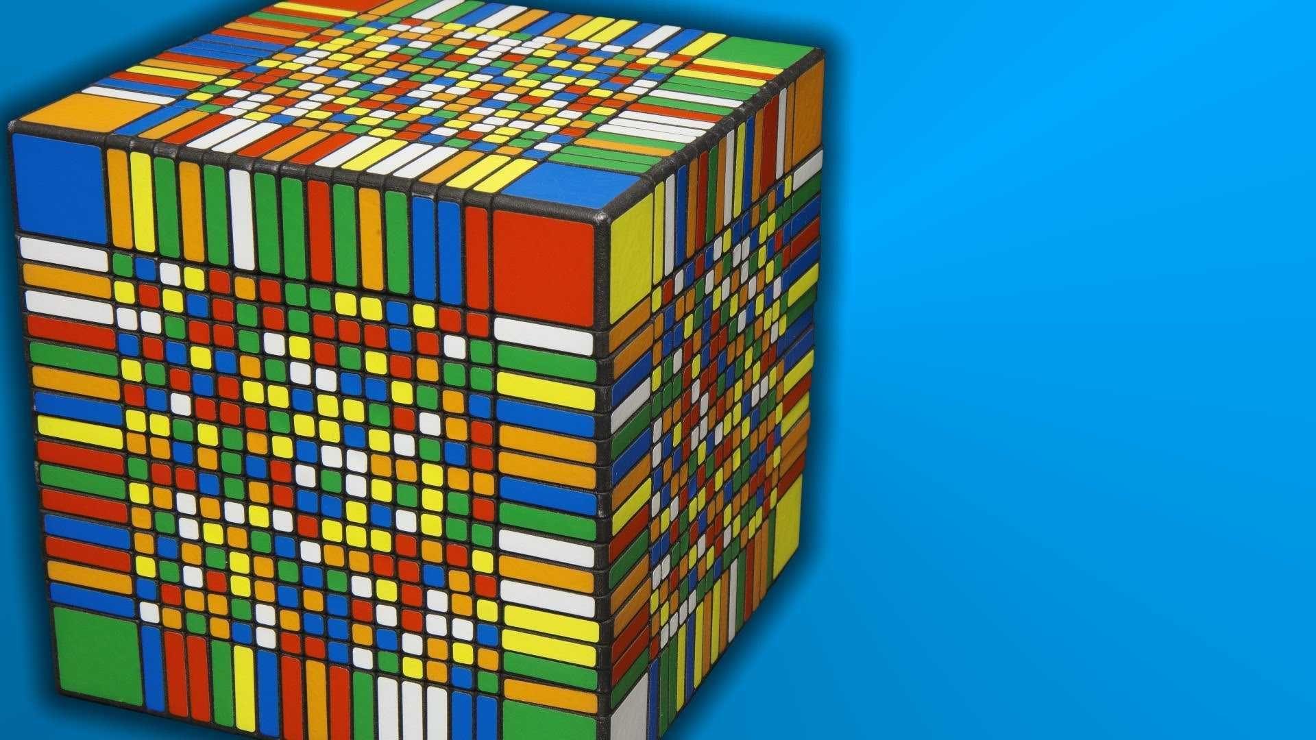 Rubiks Cube Desktop Wallpaper