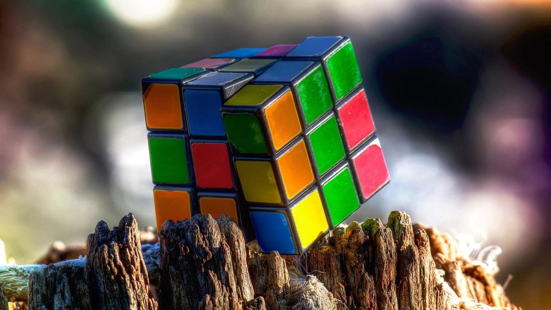 Rubiks Cube beautiful wallpaper