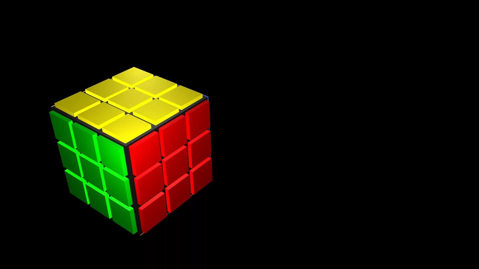 Rubiks Cube Nice Wallpaper