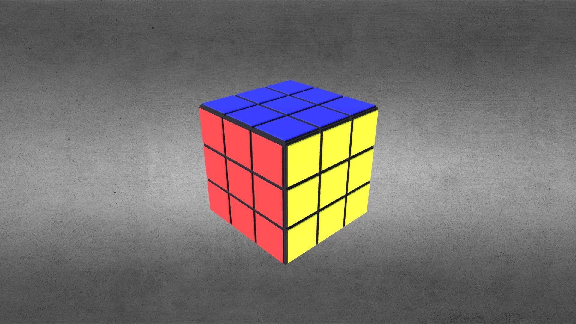 Rubiks Cube screen wallpaper