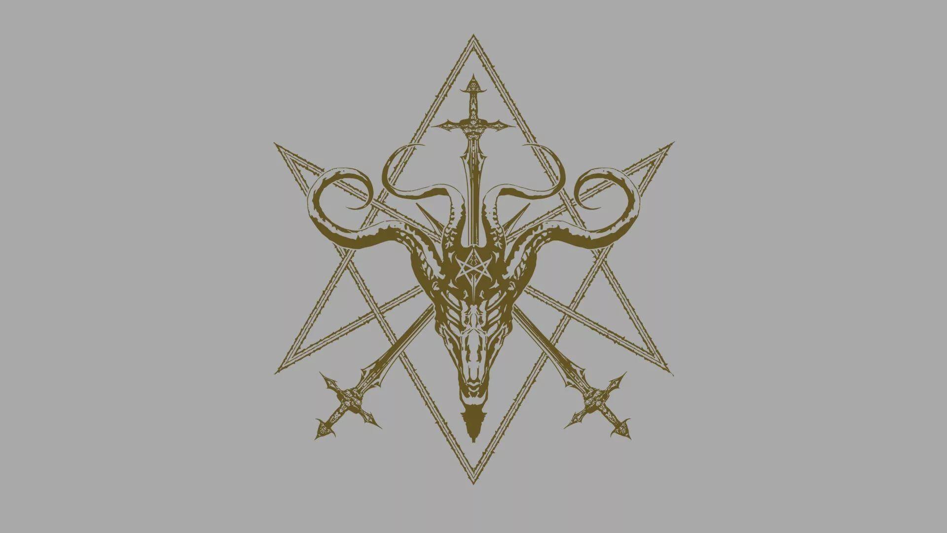 Satanic full screen hd wallpaper
