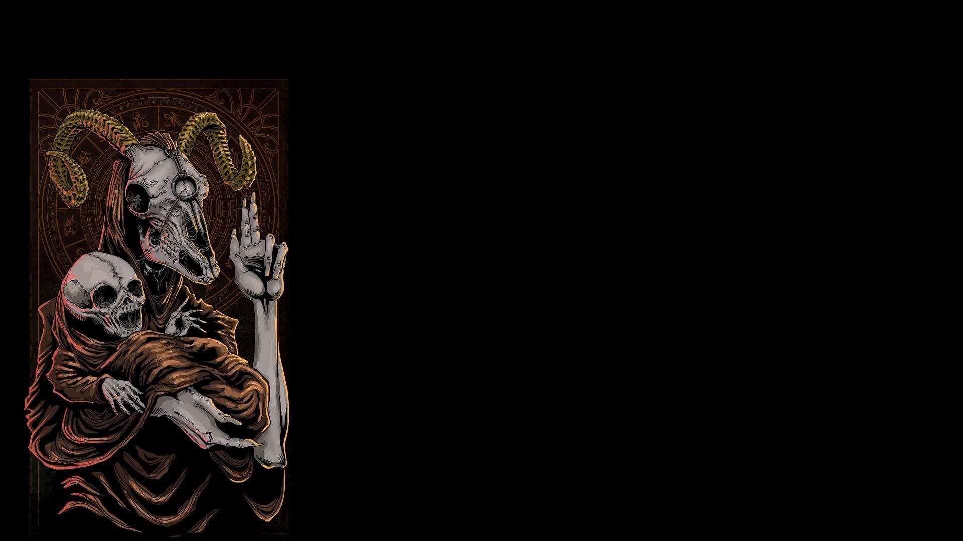 Satanic vertical wallpaper hd