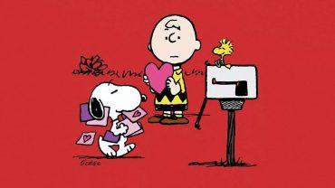 Snoopy Valentines Day desktop wallpaper