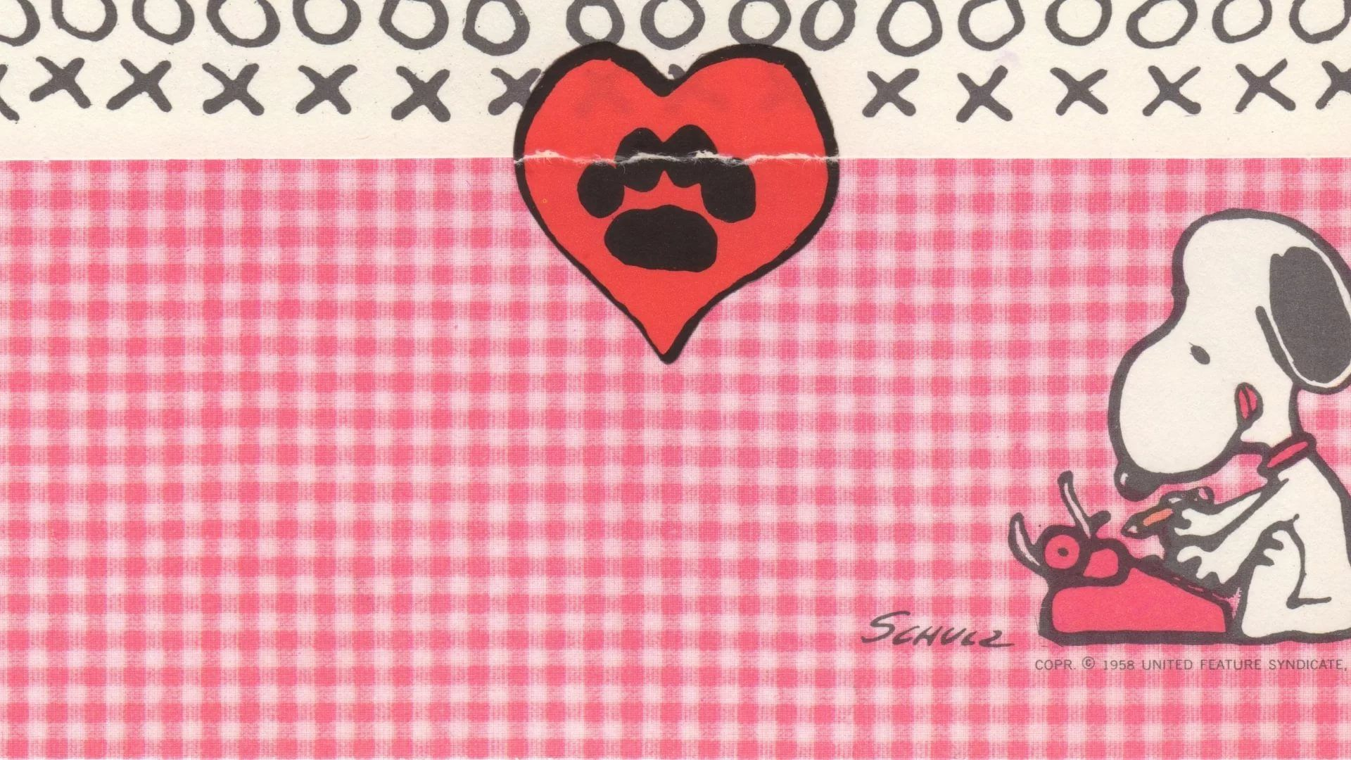 Snoopy Valentines Day hd wallpaper