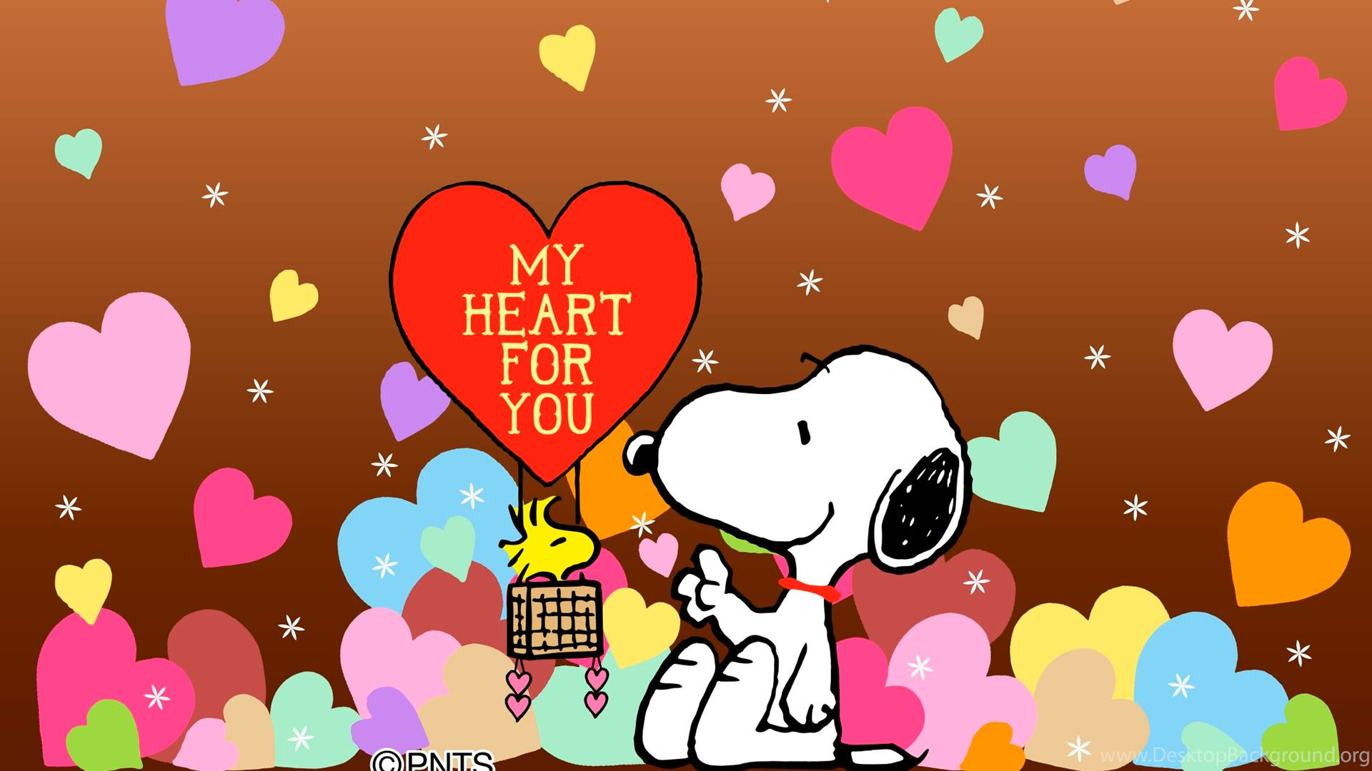 Snoopy Valentines Day Wallpapers