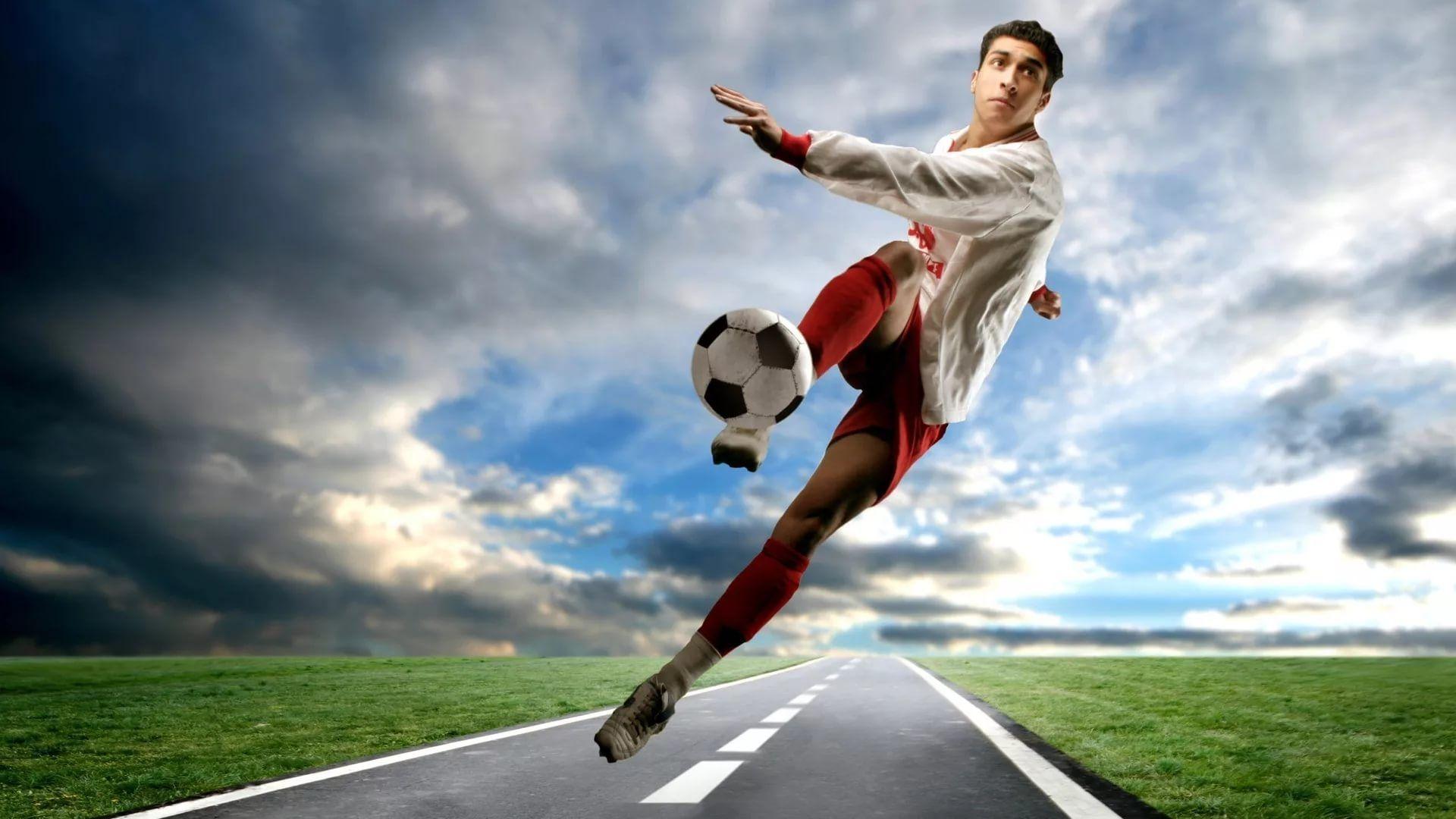 Soccer Player full wallpaper