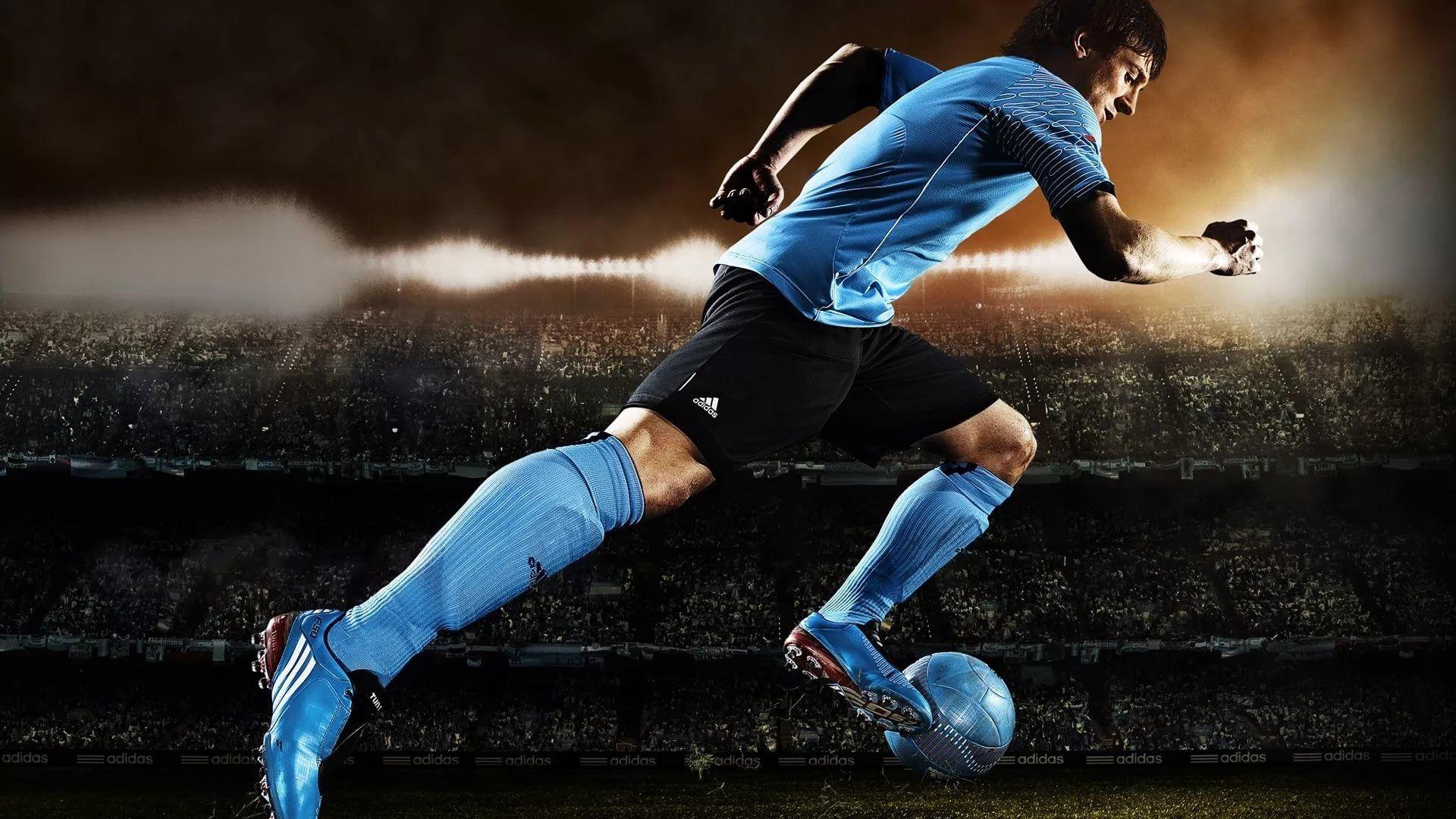 Soccer Player wallpaper theme