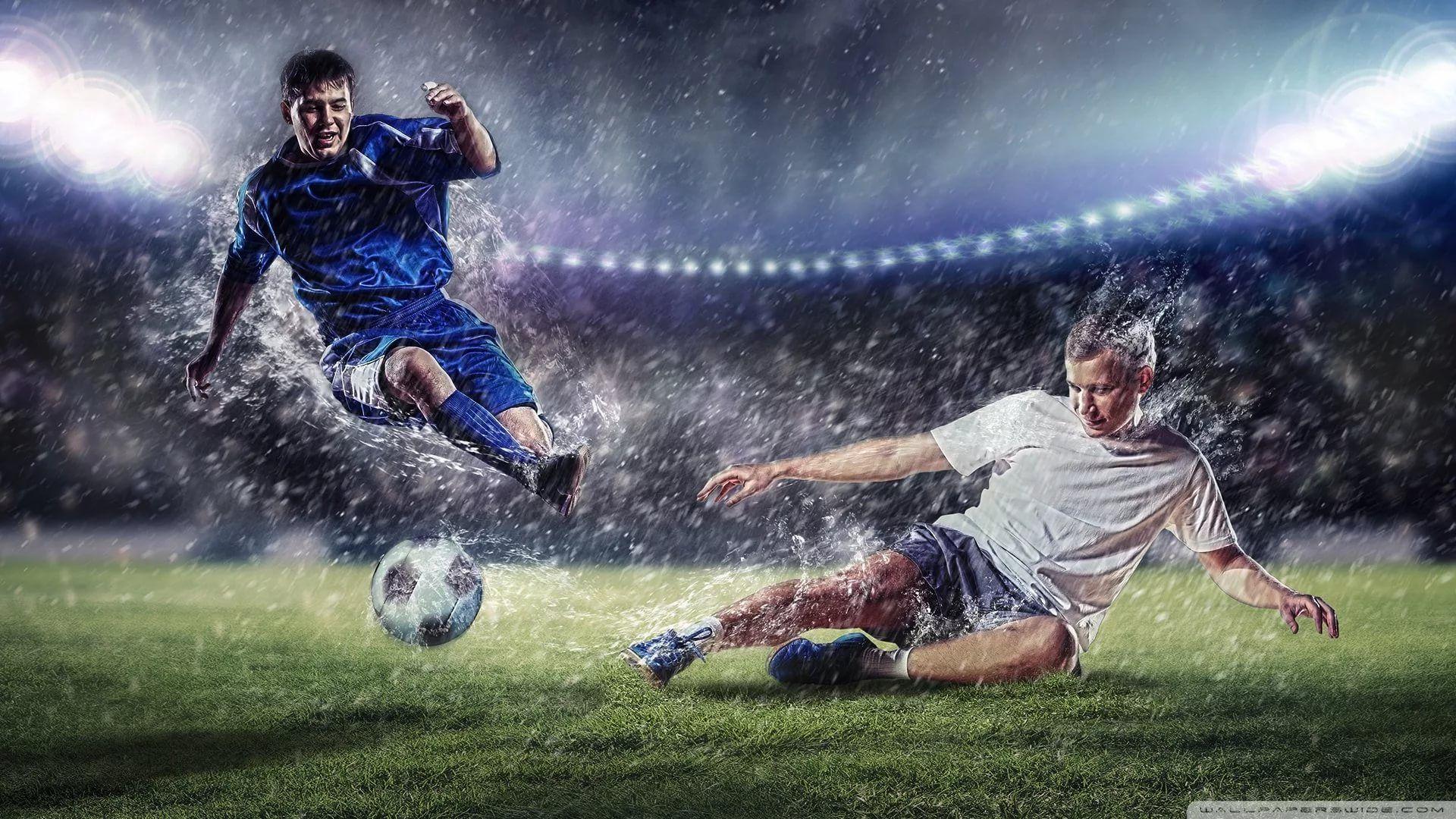 Soccer Player Full HD Wallpaper