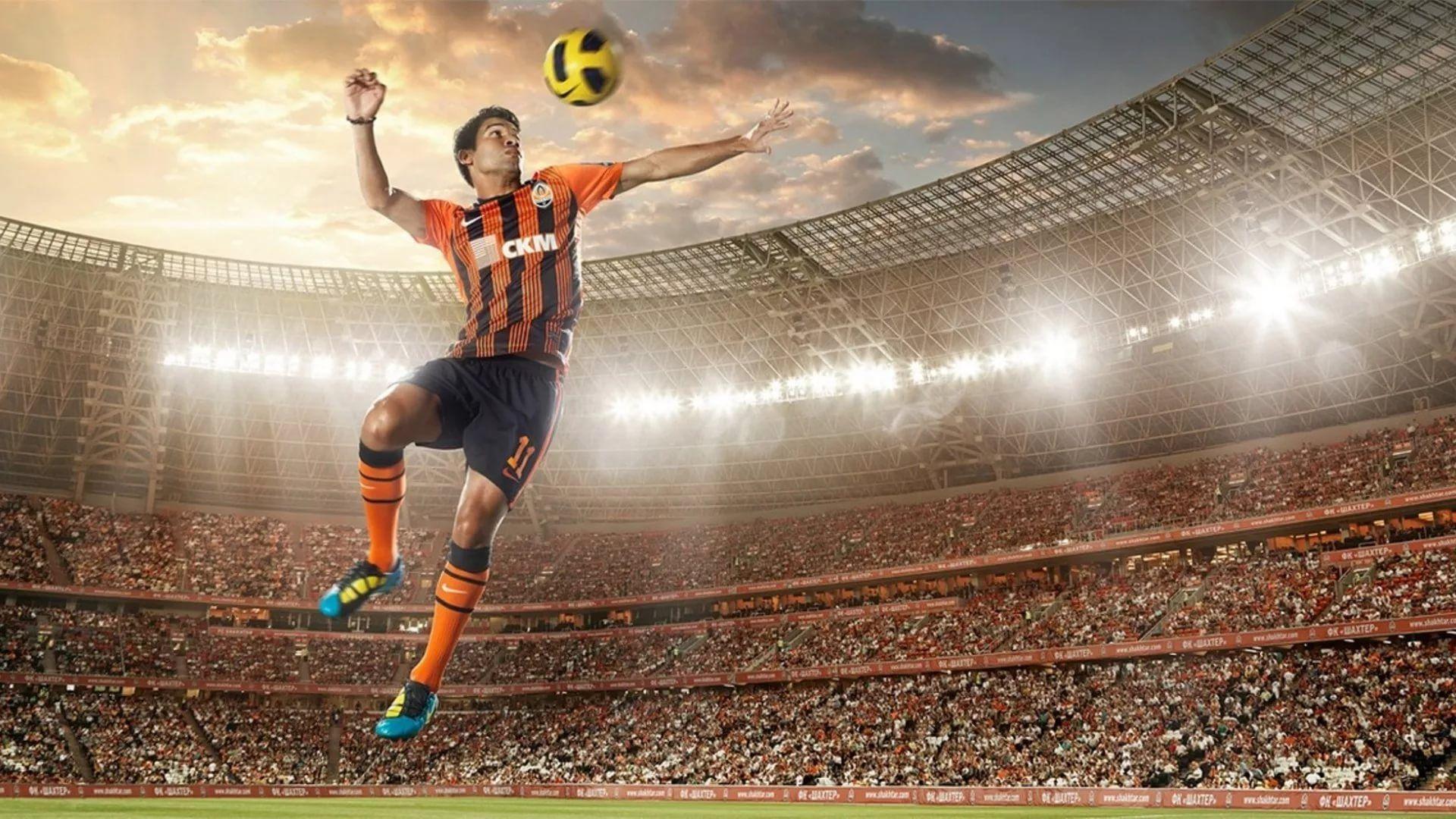 Soccer Player Desktop Wallpaper