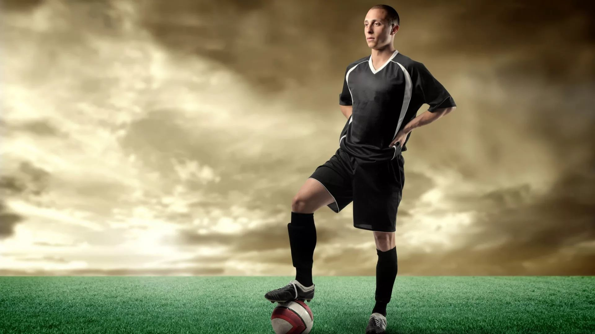 Soccer Player High Definition