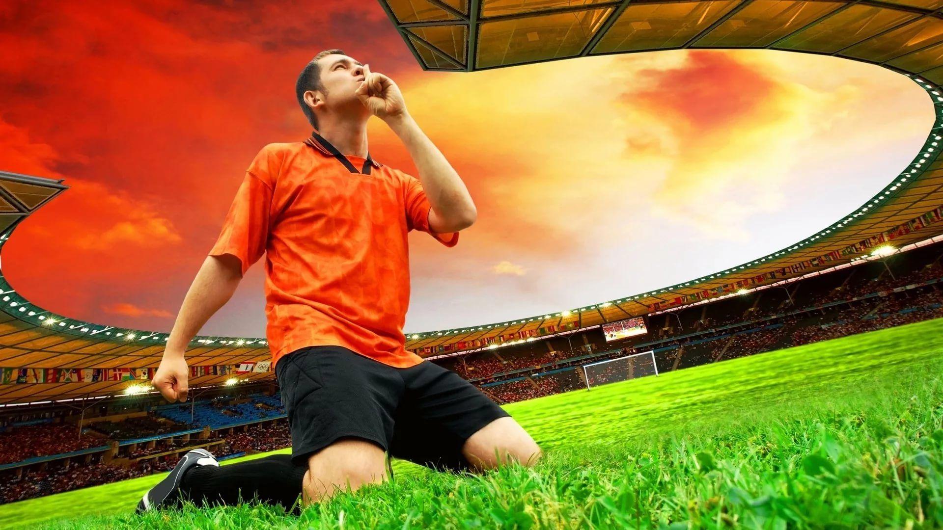 Soccer Player screen wallpaper
