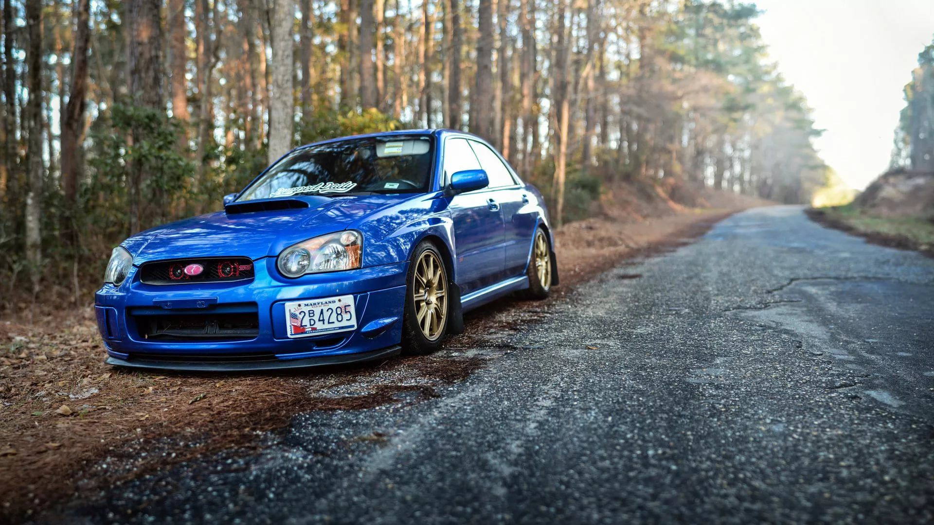 Subaru WRX Free Wallpaper