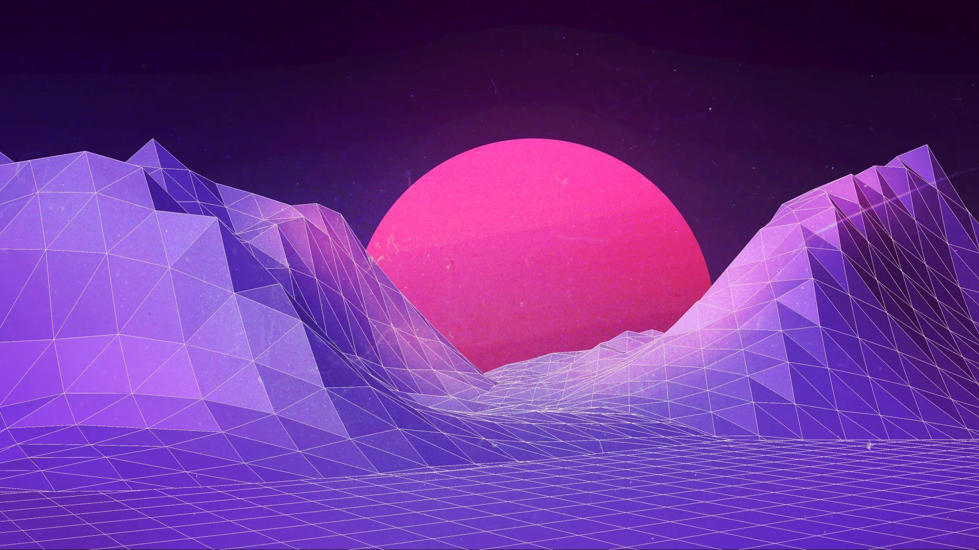 Synthwave Free Download Wallpaper