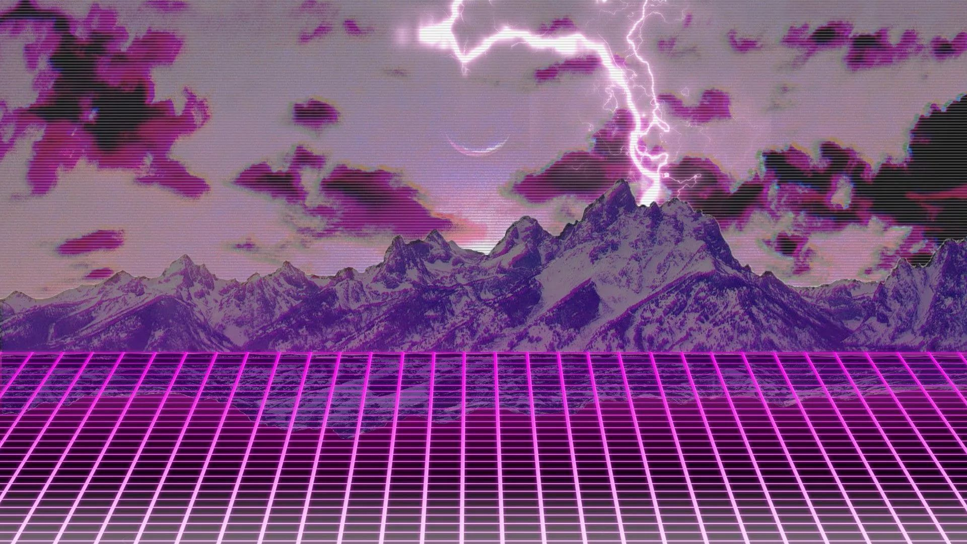 Synthwave Nice Wallpaper
