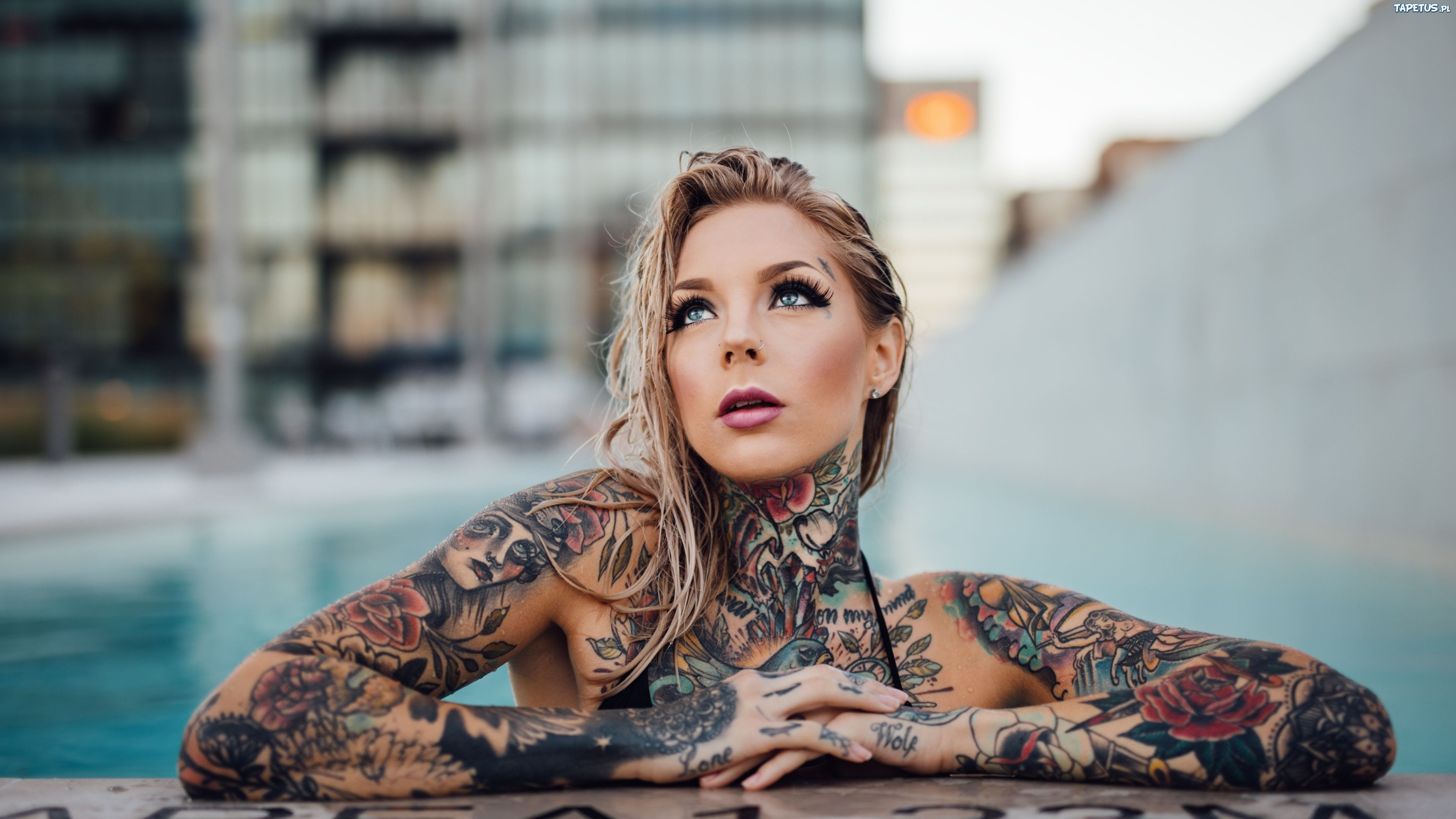27 Tattoo Girl Wallpapers Wallpaperboat
