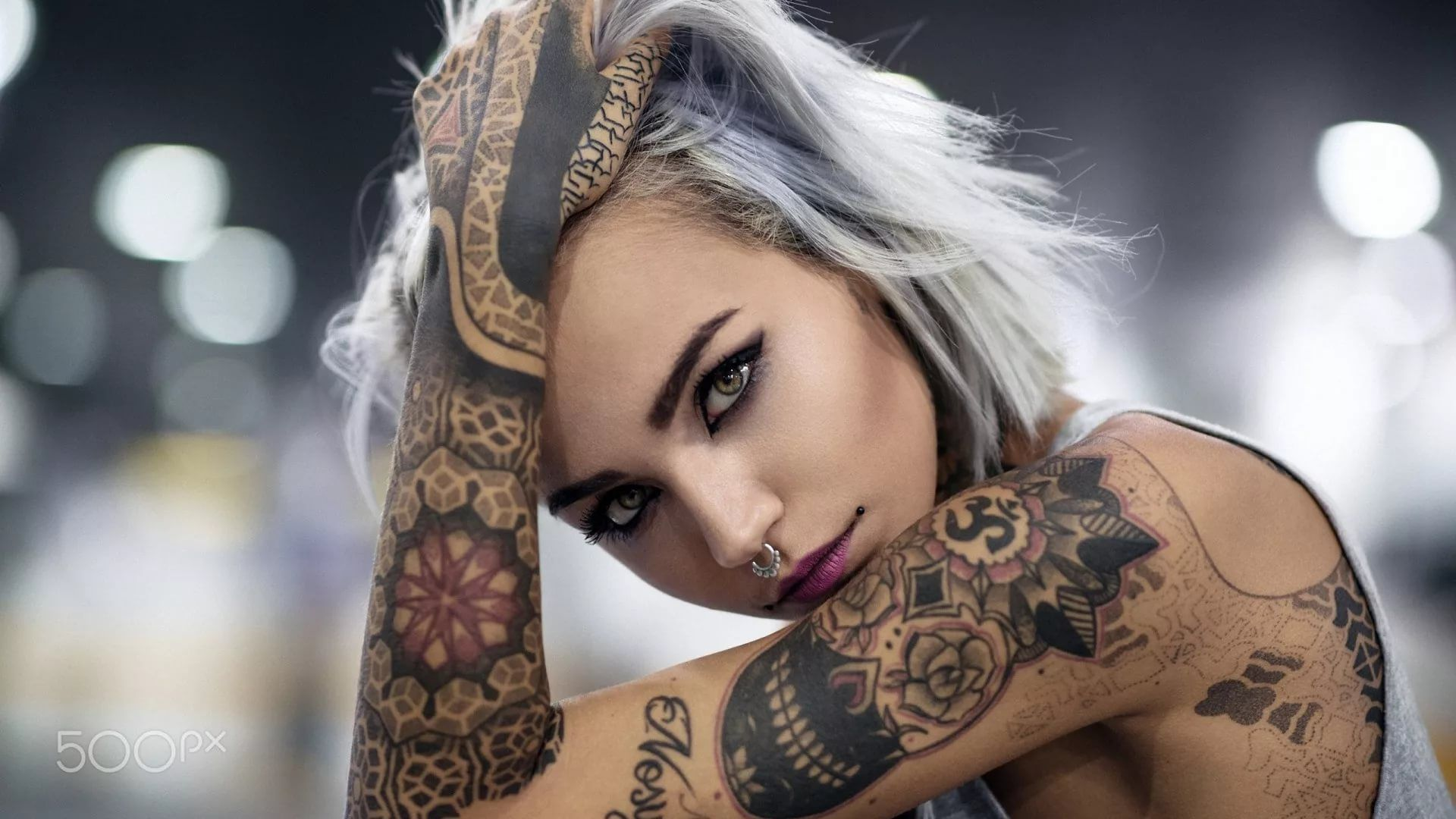 27 Tattoo Girl Wallpapers - Wallpaperboat-2883