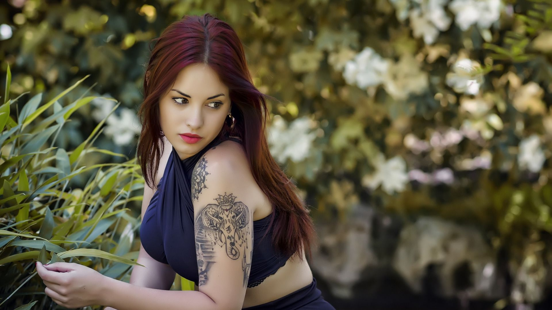 Tattoo Girl desktop wallpaper