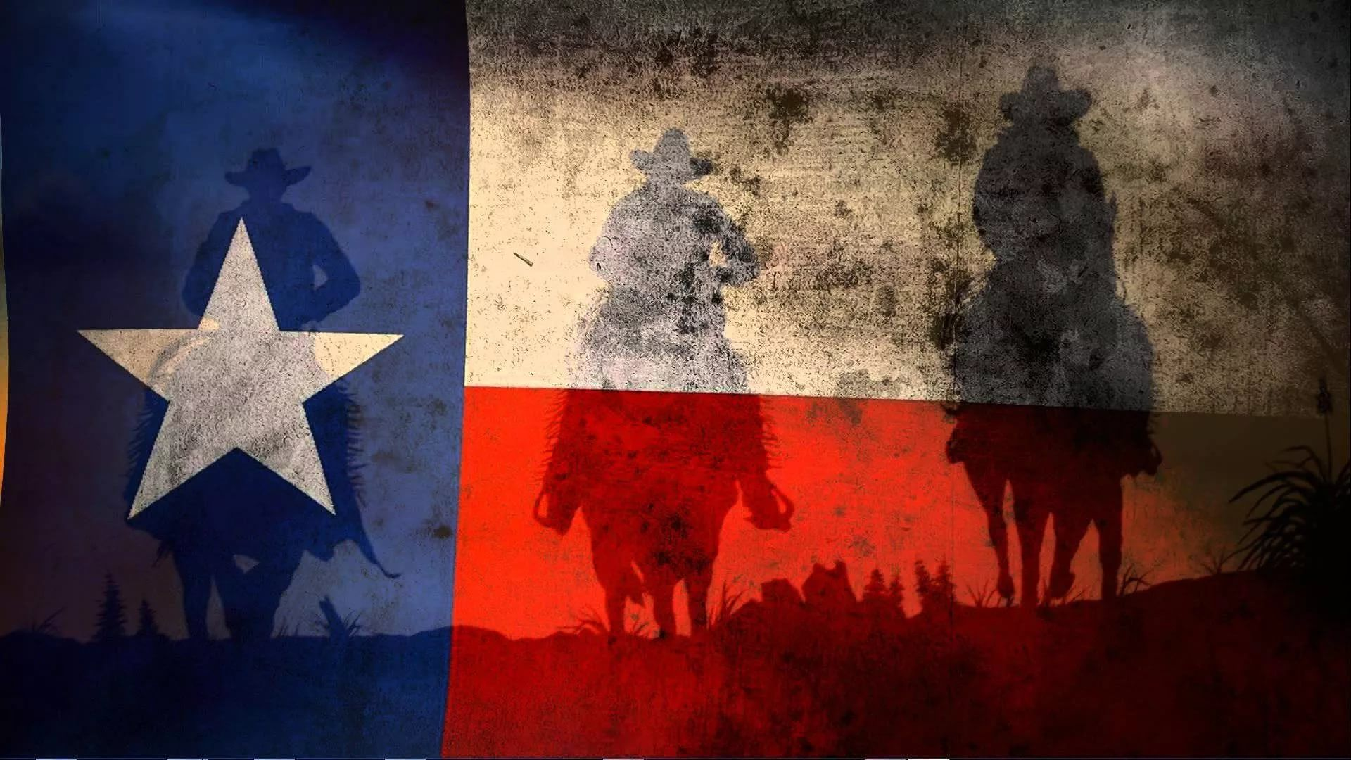 Texas Flag PC Wallpaper