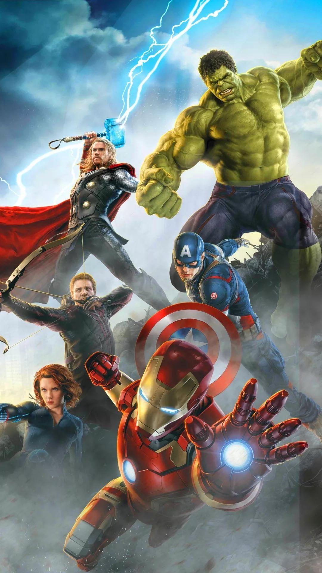 The Avengers iPhone wallpaper