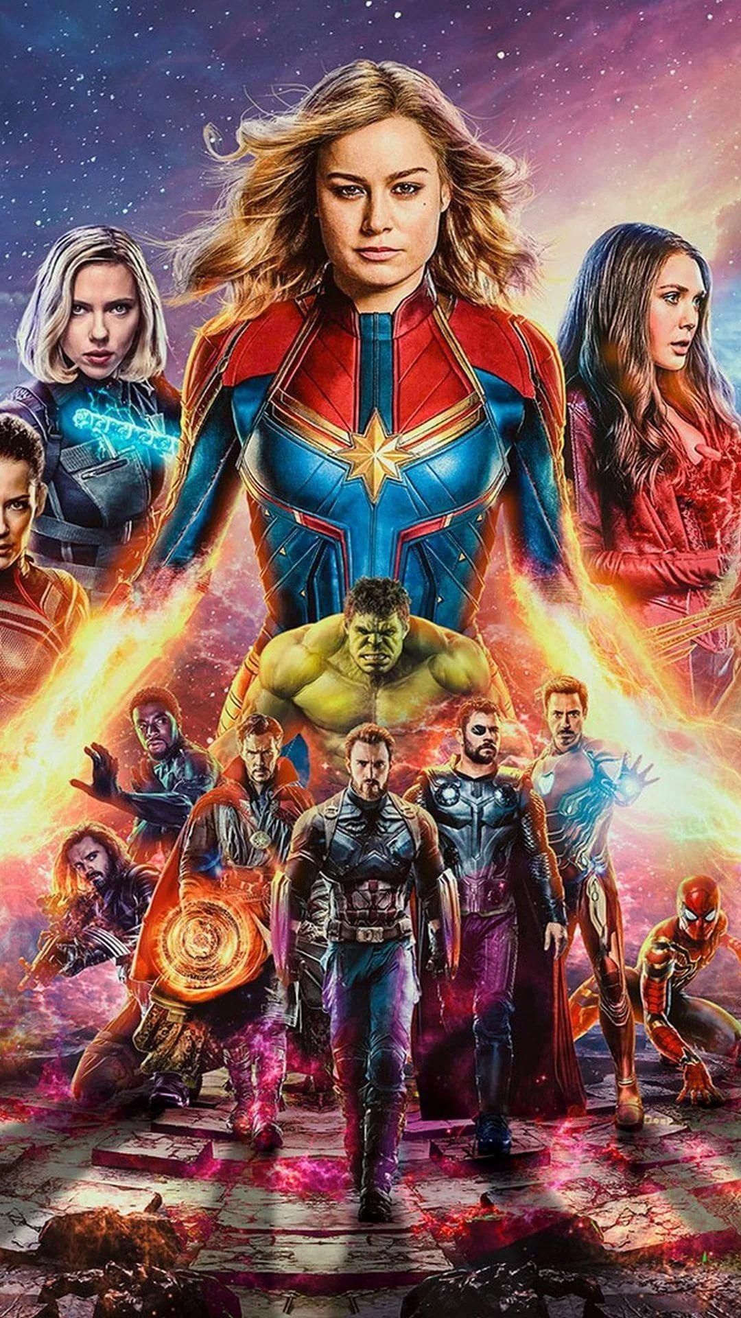The Avengers iPhone hd wallpaper