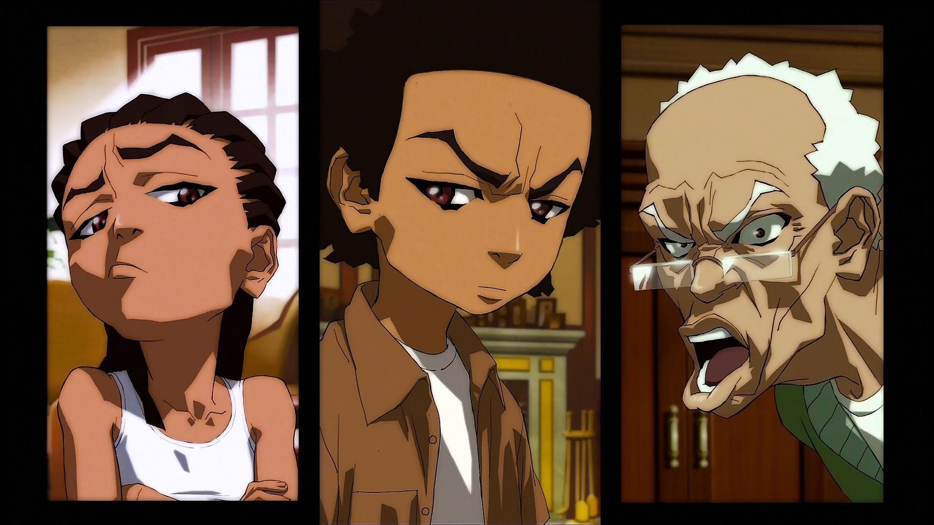 27 The Boondocks Wallpapers Wallpaperboat