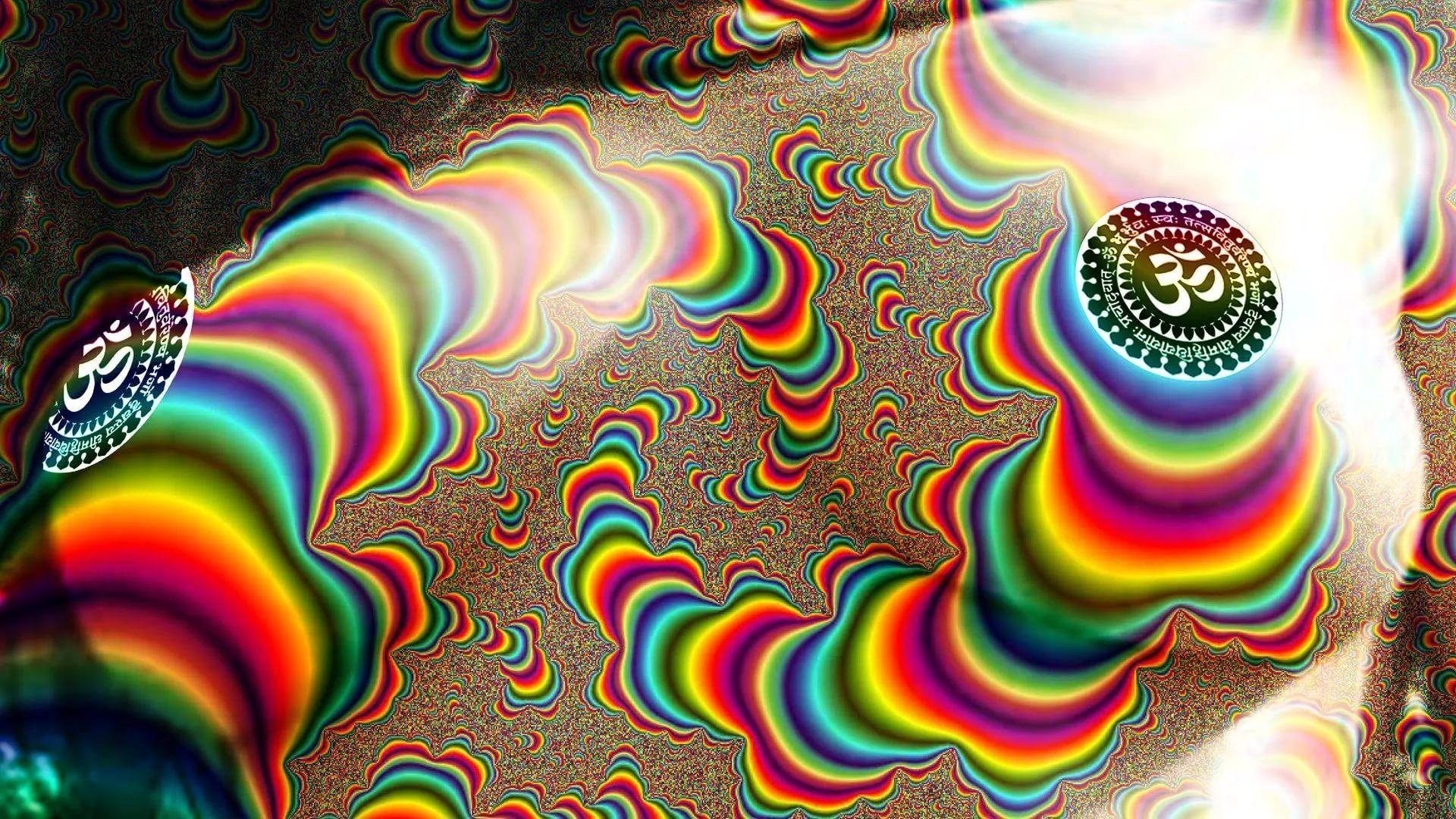 Trippy Rasta desktop wallpaper