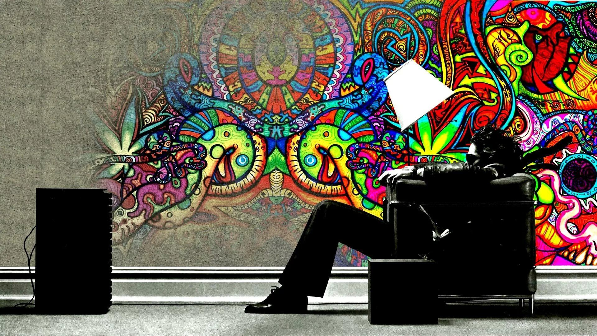 Trippy Rasta wallpaper download
