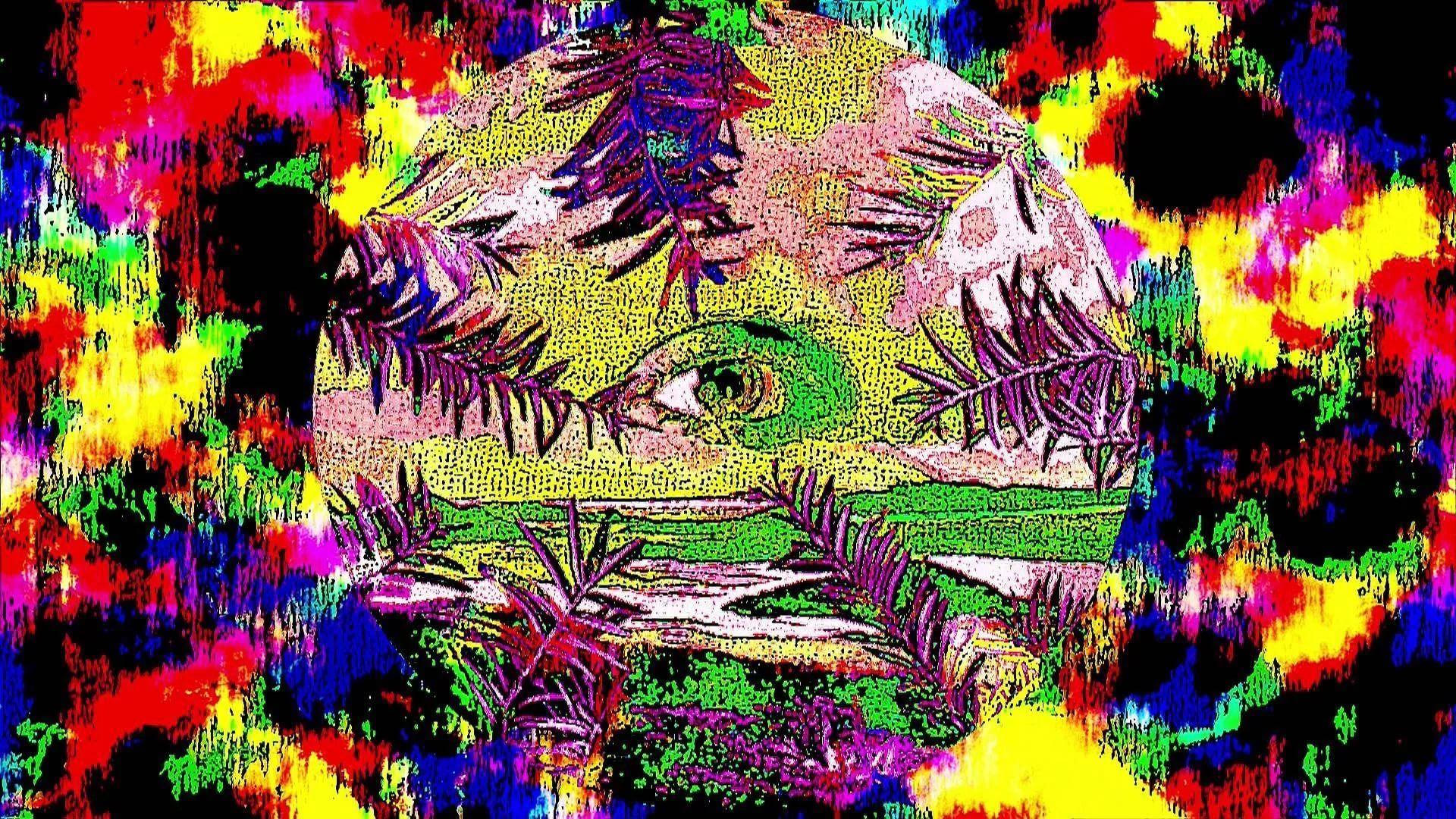 Trippy Rasta Background
