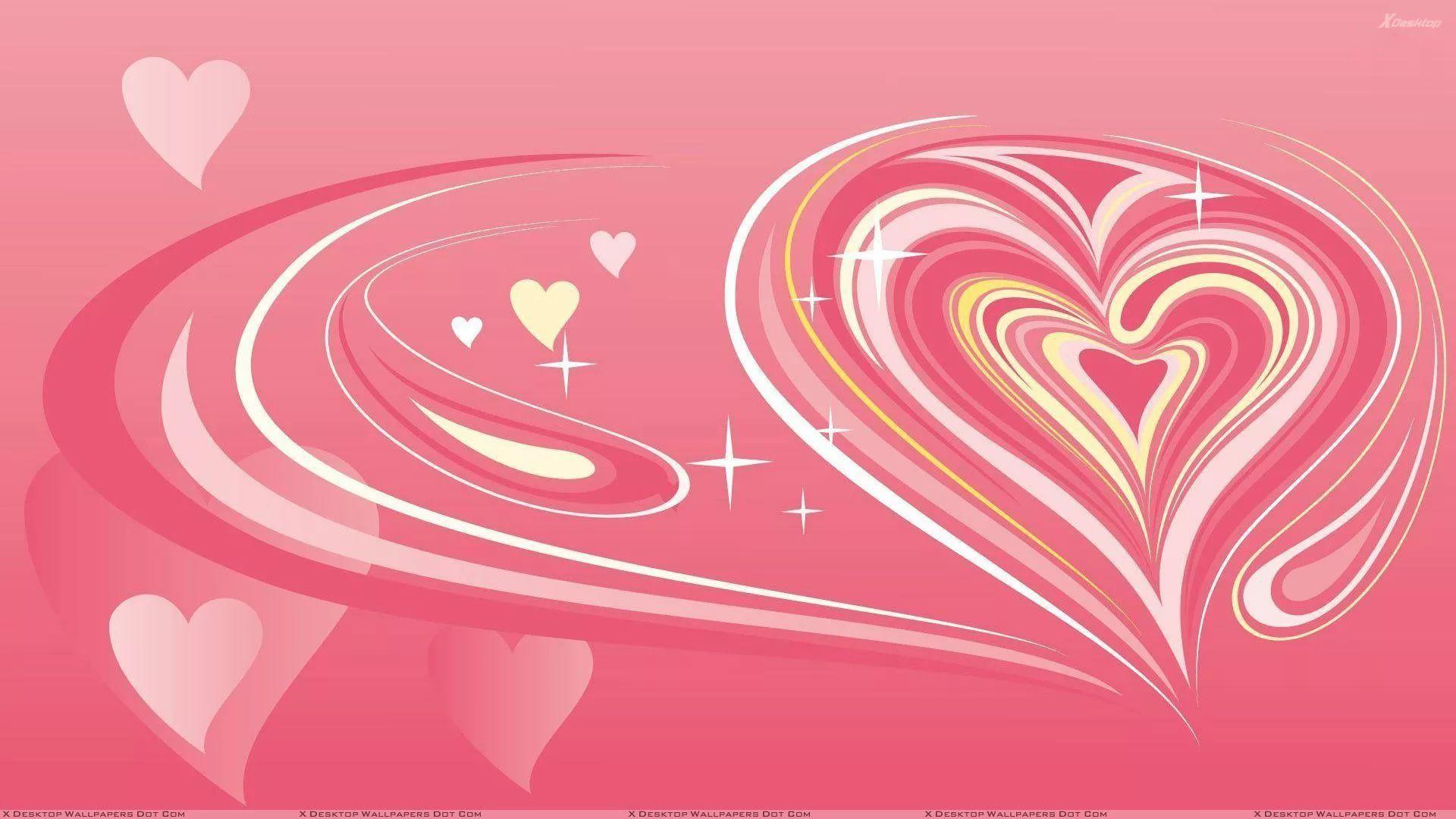 Valentine Screensaver desktop wallpaper