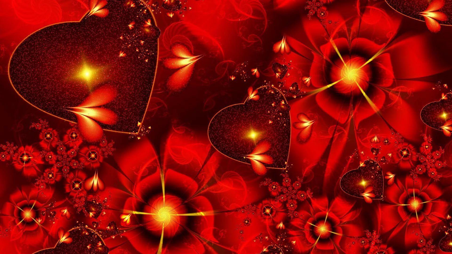 Valentine Screensaver wallpaper image