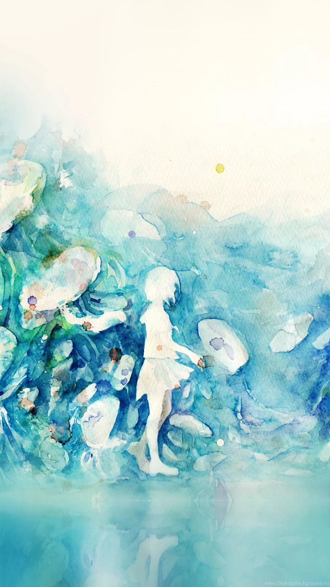 Watercolor wallpaper for android