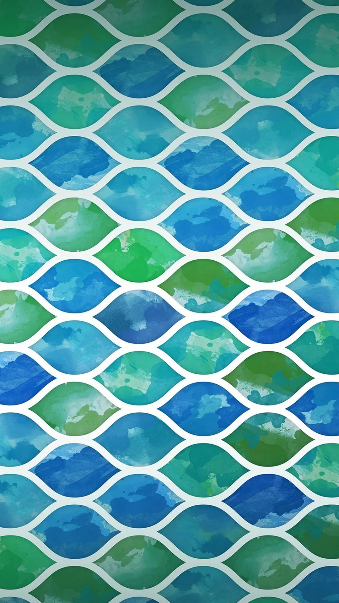 Watercolor iPhone wallpaper