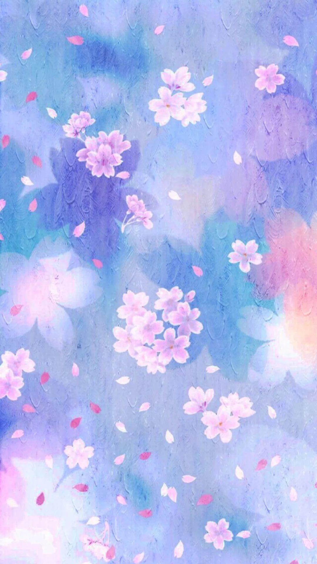 Watercolor iPhone hd wallpaper