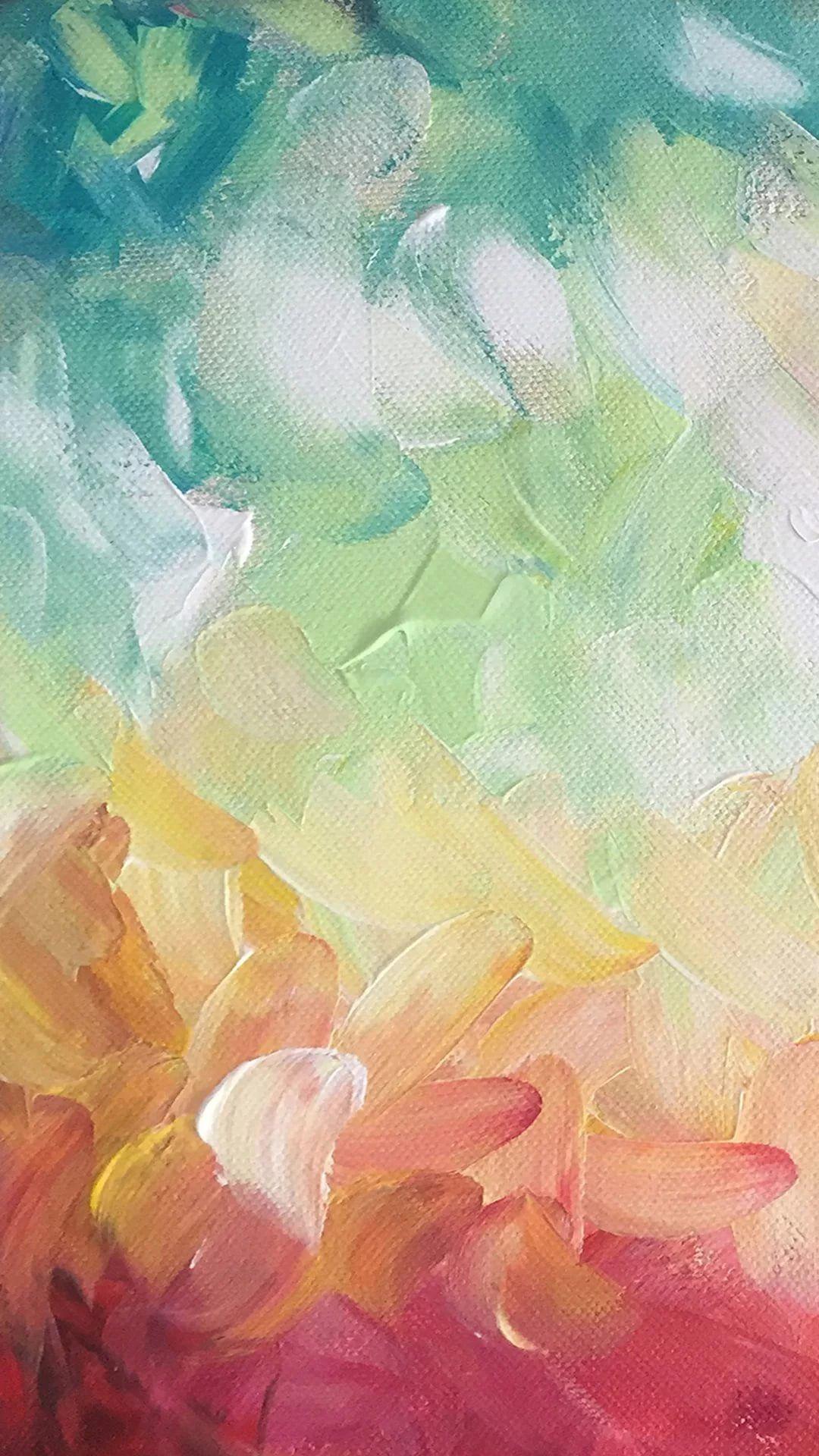 Watercolor phone wallpaper