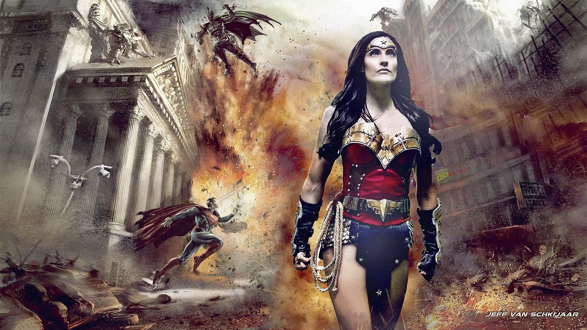 Wonder Woman Hot desktop wallpaper