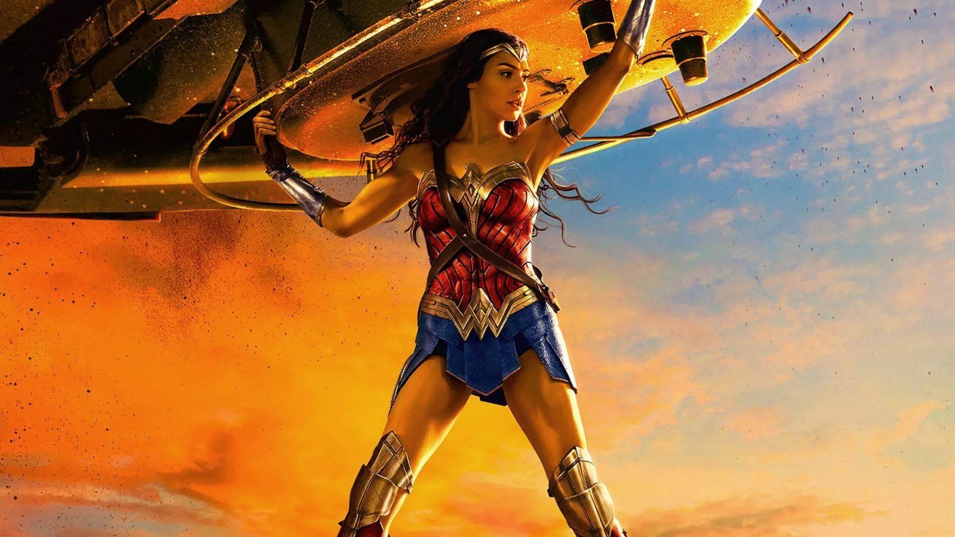 Wonder Woman Hot wallpaper