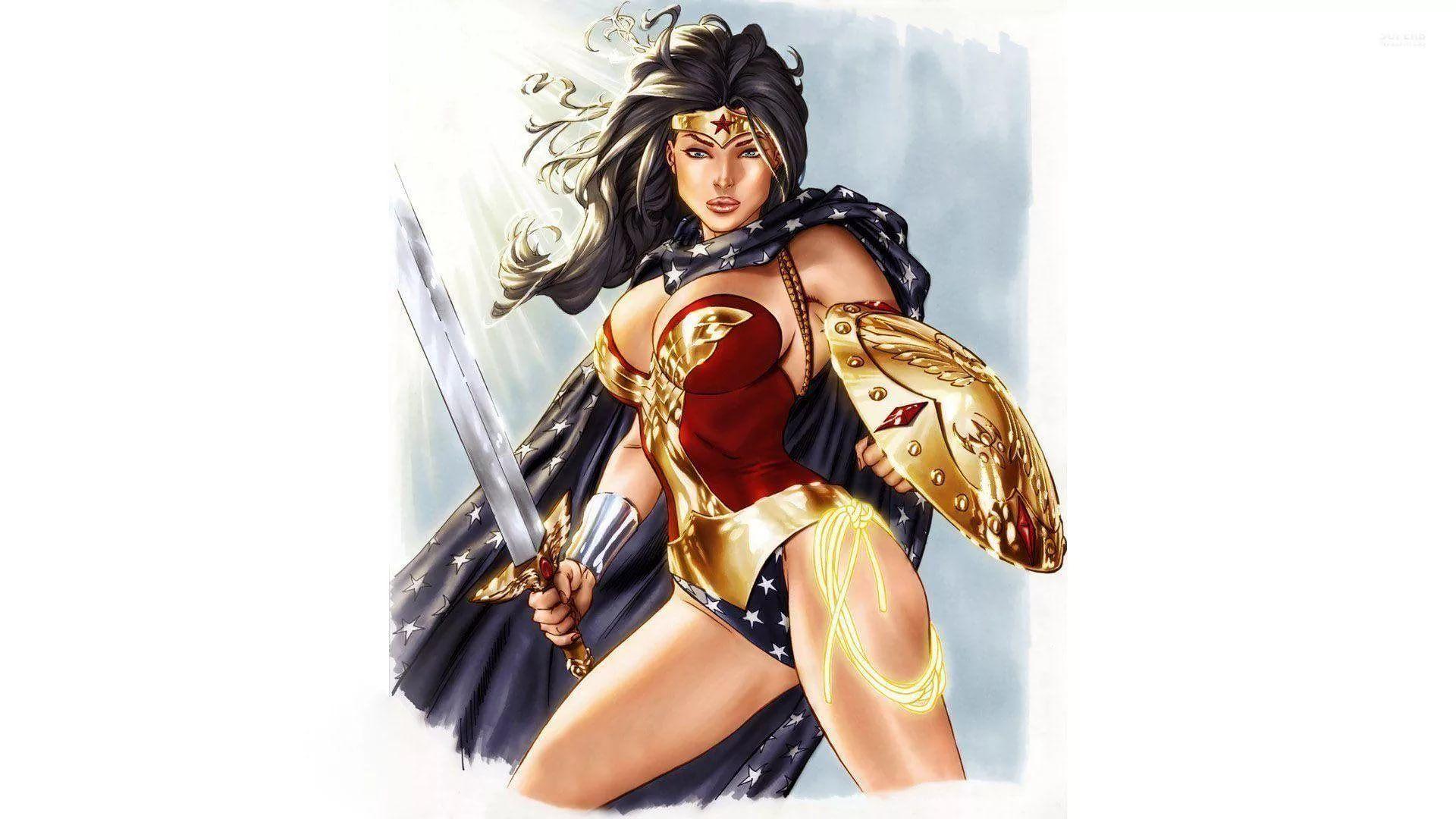 Wonder Woman Hot hd desktop wallpaper
