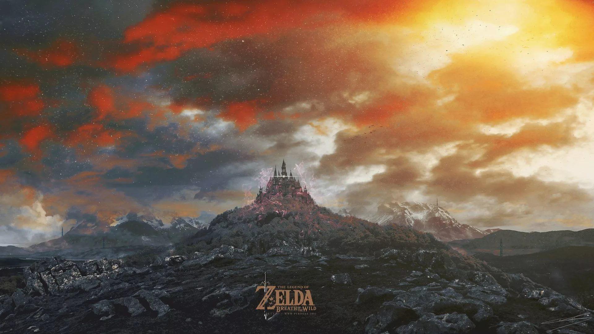 Zelda Live computer wallpaper