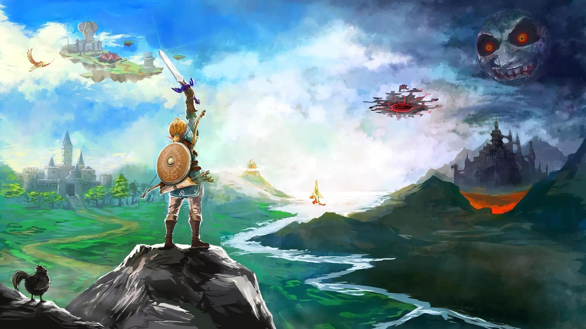 Zelda Live new wallpaper