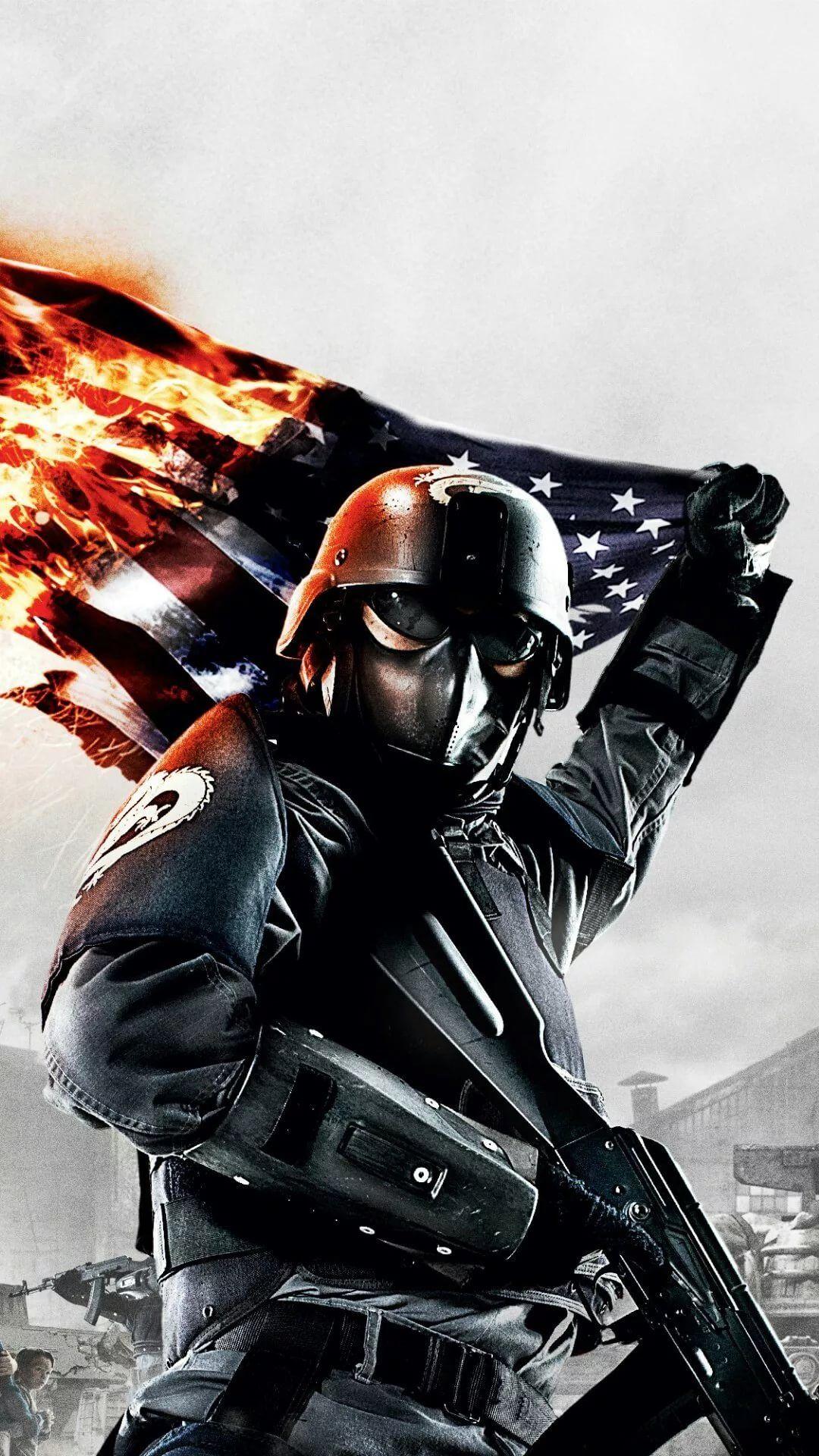 American Sniper iPhone hd wallpaper