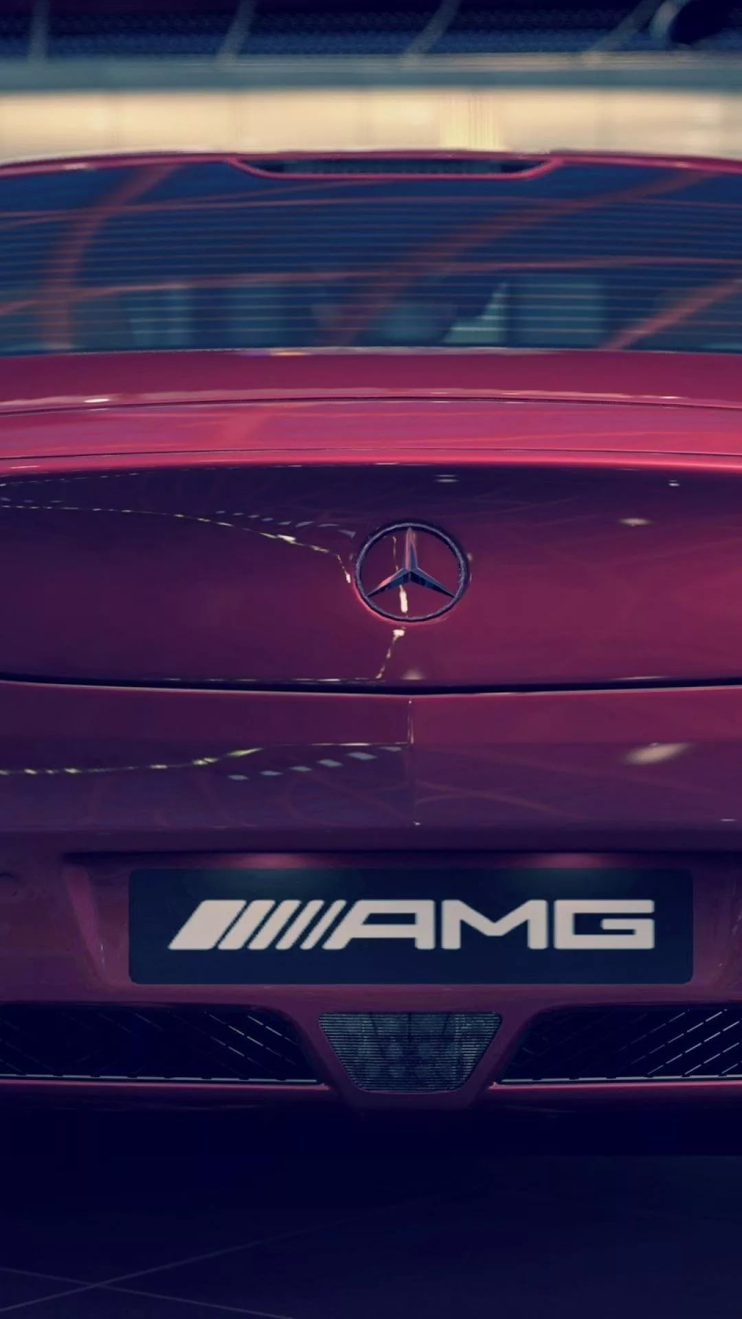Amg Logo iPhone hd wallpaper