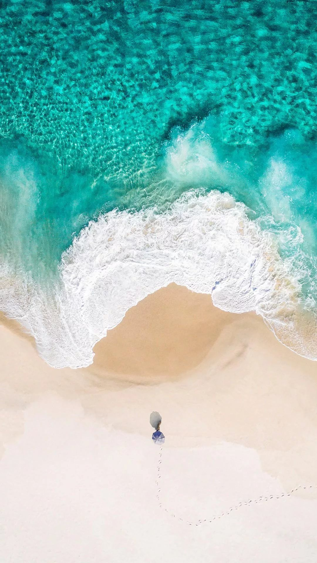 Beach Tumblr iPhone wallpaper