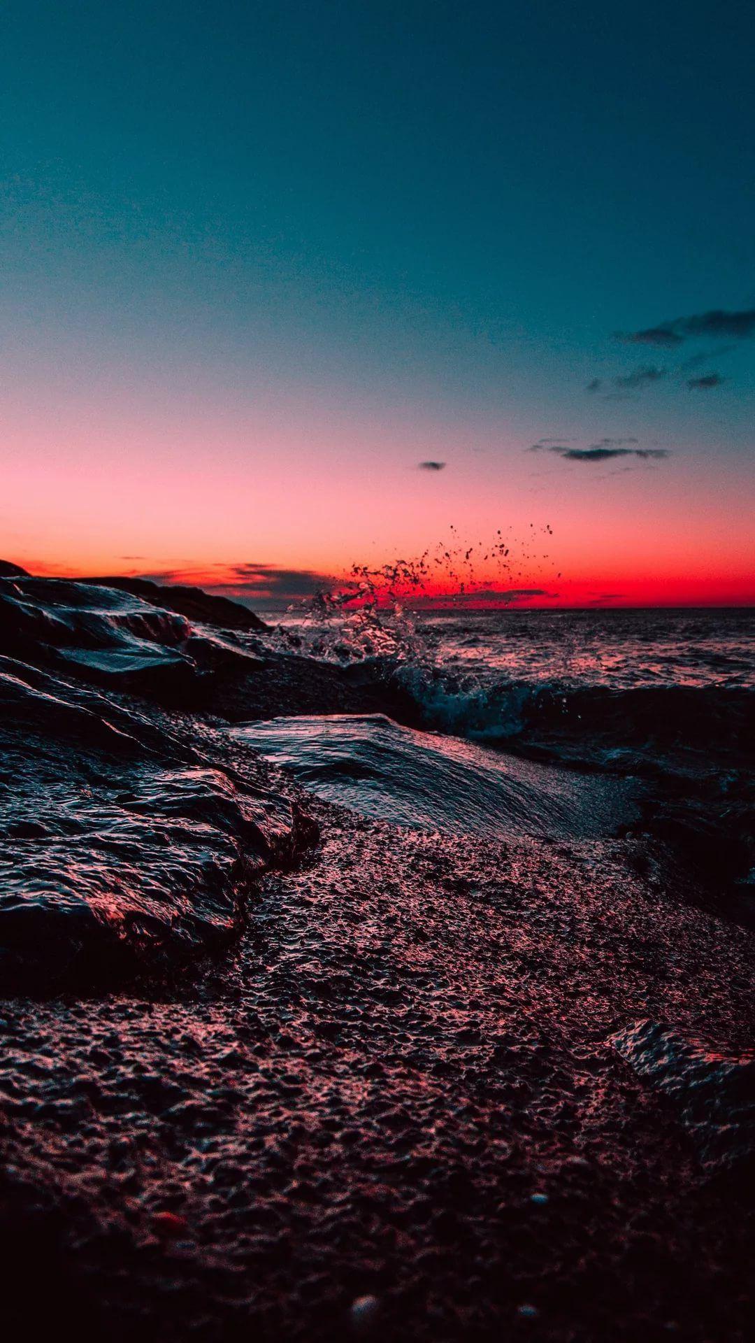 19 Beach Tumblr iPhone Wallpapers - WallpaperBoat