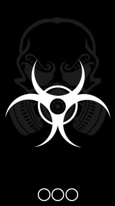 Biohazard iPhone 7 wallpaper