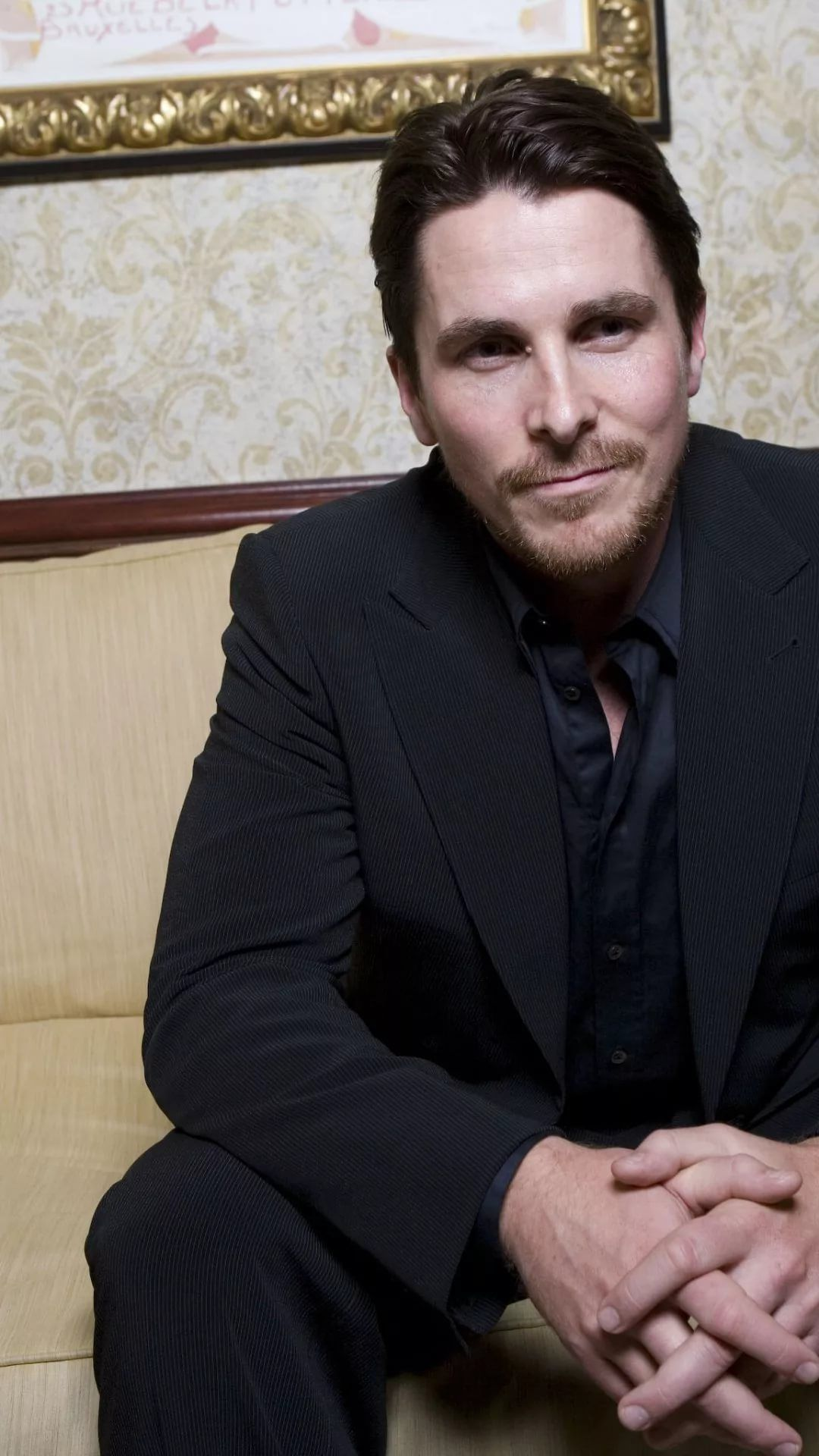 Christian Bale wallpaper for iPhone